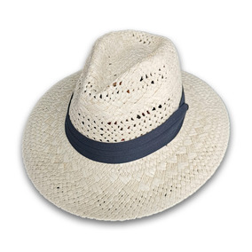 e0f8efcbb6d99 Sombrero Unisex Tipo Panama Suave Hombre Mujer Dama