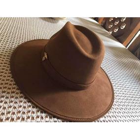 eb3ef07e10f00 Sombrero Indiana Jones Gamuza Color Café