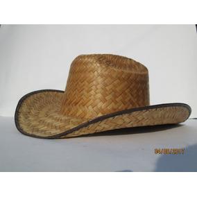 87e56ea98176f 20 Sombrero Texano Palma Adulto Paja Batucada Vaquera