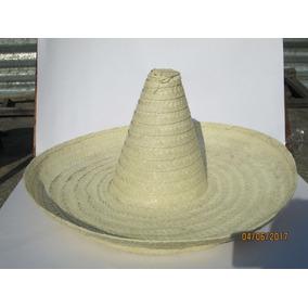 bf5c2a708e6c3 10 Sombrero Zapata Adulto 60 Cm Palma Mexicano Fiesta Mex