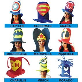 2ba0372d31ad7 Sombreros De Hule Espuma Para Fiestas - Sombreros en Mercado Libre ...