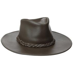 6c23a61e8590b Sombrero Para Doblar Australiano Cuero en Mercado Libre Colombia