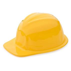 0229b429527a4 1 Docena De Sombreros Amarillos De Construcción Para Los Niñ