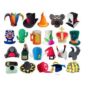 d63752fc5ee46 Sombreros De Goma Espuma Para - Sombreros en Mercado Libre México