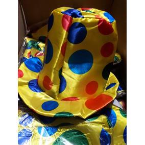 be4c79aa24e15 100 Sombrero Payaso Bolitas Fiesta Batucada Disfraz Mayoreo