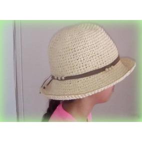 aafd763103cf3 Hermoso Sombrero Playa - Sombreros en Mercado Libre Venezuela