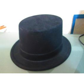 d0d61cb9da357 10 Sombrero Copa Mago Negro Terciopelo Batucada Disfraz