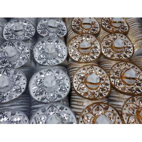 506eaf4b45538 60 Sombrero Charro Mariachi Blanco 20cm Boda Xv Años Bautizo