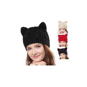 6f05f1e83f0dd Gato Gorro Kawaii Cute Con Orejas Cat 10 Piezas Lote E.grat