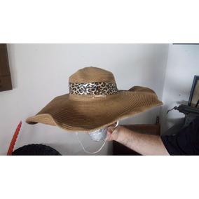 48e743b7c36de Sombrero Paja Campesino en Mercado Libre Argentina