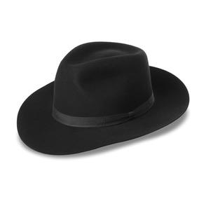 f77f45cbbe266 Sombrero Fedora Hombre Negro - Sombreros en Mercado Libre México