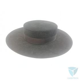 897a51a914202 Sombrero Cordobés De Fieltro Color Negro