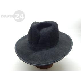 06914fac51a56 Sombrero De ´´cowboy´´ De Paño De Fieltro Blando Talle 57