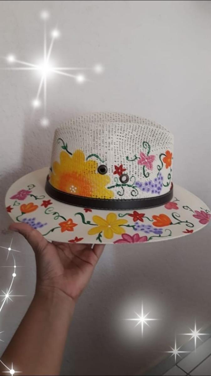 12b2b2aae6c7 Sombreros Artesanales Pintados A Mano