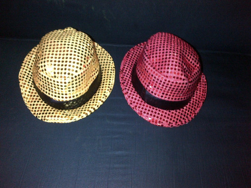 sombreros brillantes, elegantes hora loca carnaval
