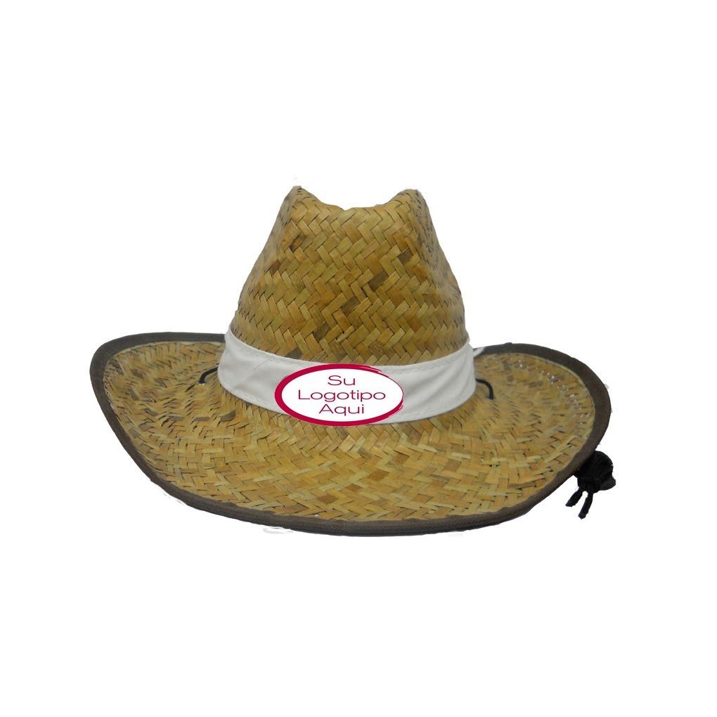 Sombreros Cowboy De Paja Lisos O Con Su Logo Por Mayor -   349 9d53b57efa92