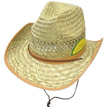 Sombreros Cowboy De Paja Lisos O Con Su Logo Por Mayor -   299 ef7e4628546