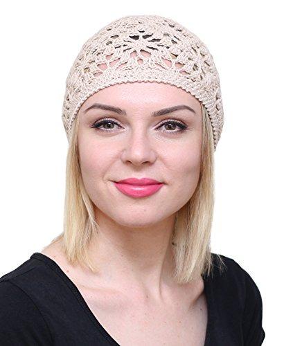 Sombreros De Algodón Nfb Para Mujer Gorro De Verano De Enc ... b9fe15b61a4
