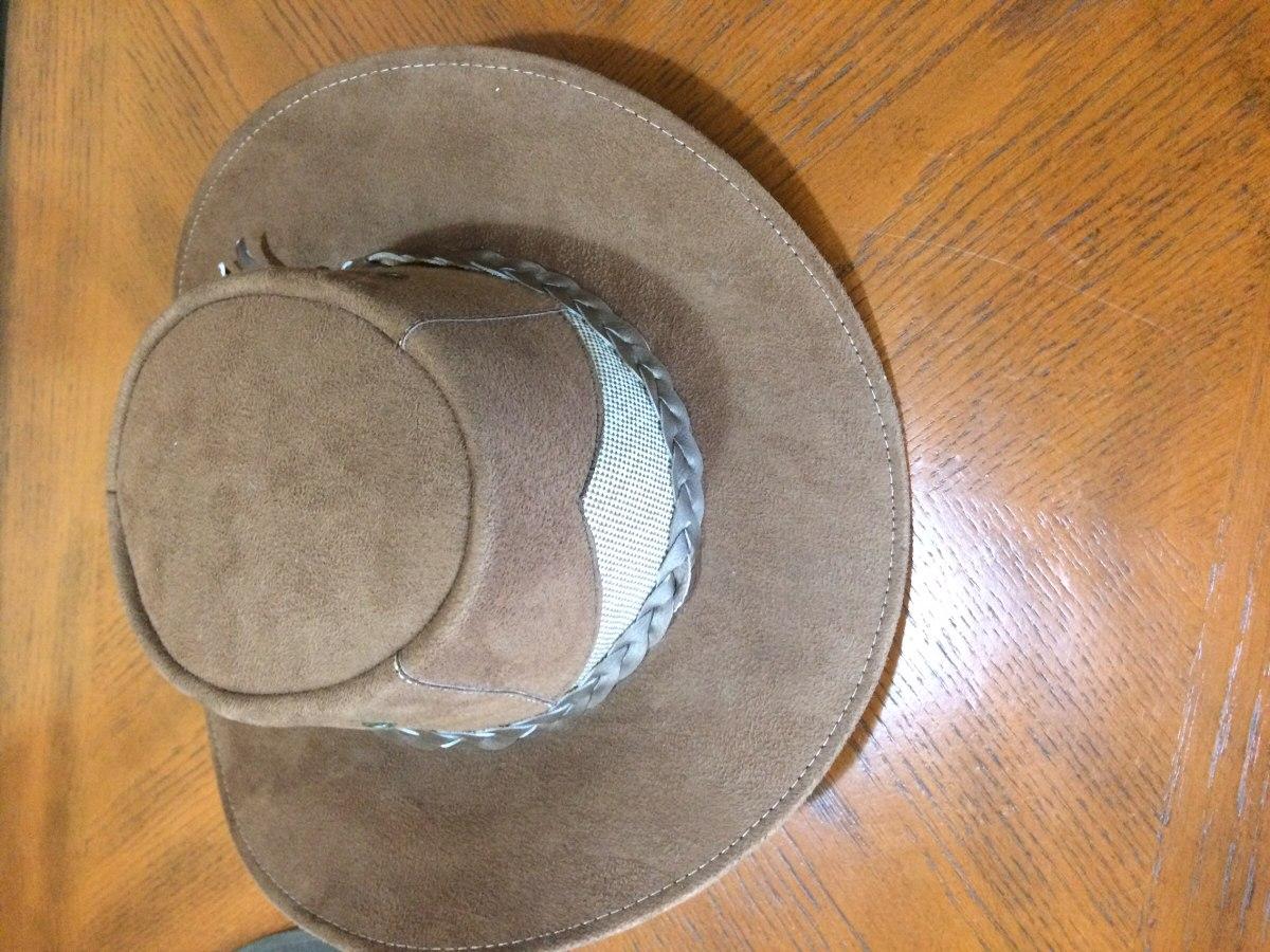 Sombreros De Cuero Hechos En Colombia Y México Nuevo -   35.000 en ... 38bcbcaaf4f