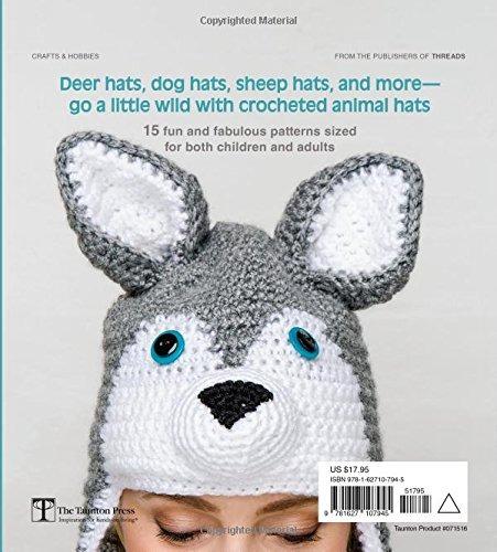 Sombreros De Ganchillo Para Animales: 15 Patrones Para - $ 1,034.77 ...