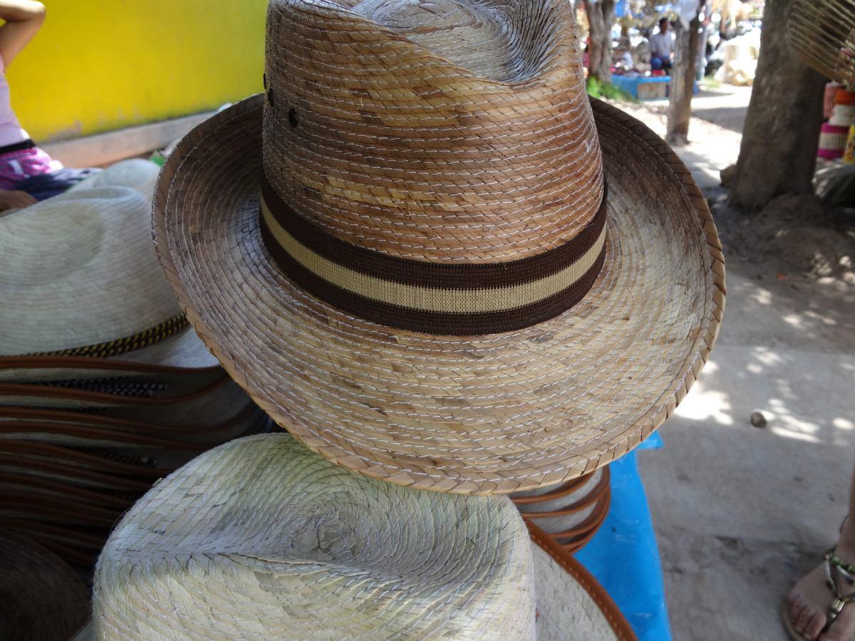 Sombreros De Palma Tipo Cubano Fedora Vv4 -   35.00 en Mercado Libre 1312a1e4232