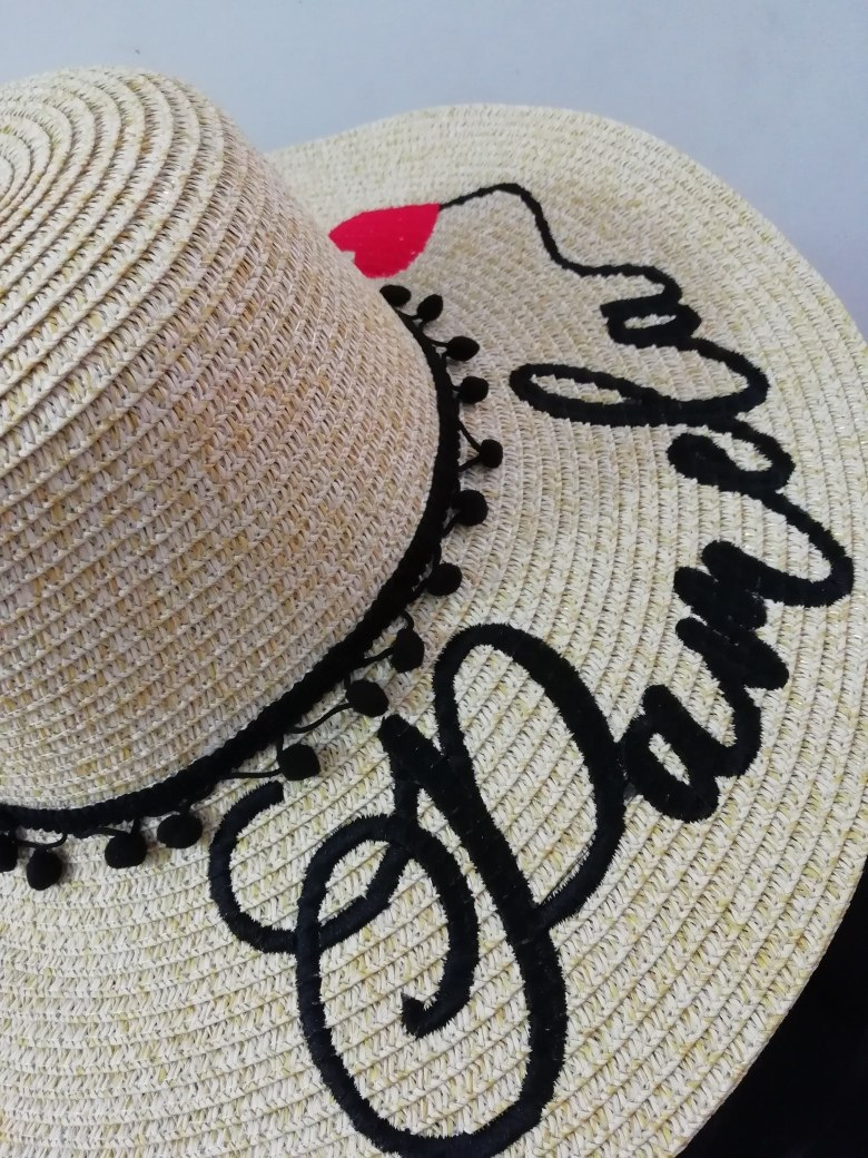 sombreros de playa personalizado. Cargando zoom. 24899a84d44