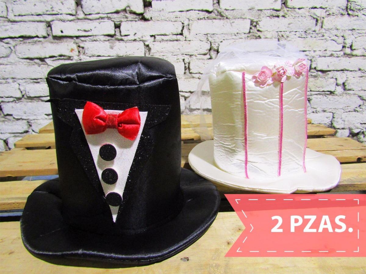 Sombreros De Tela Para Novios -   420.00 en Mercado Libre bfd790119af
