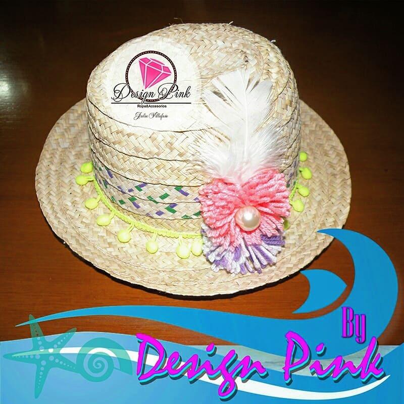 Sombreros Decorados - Playa 0ee4b7d4dc8