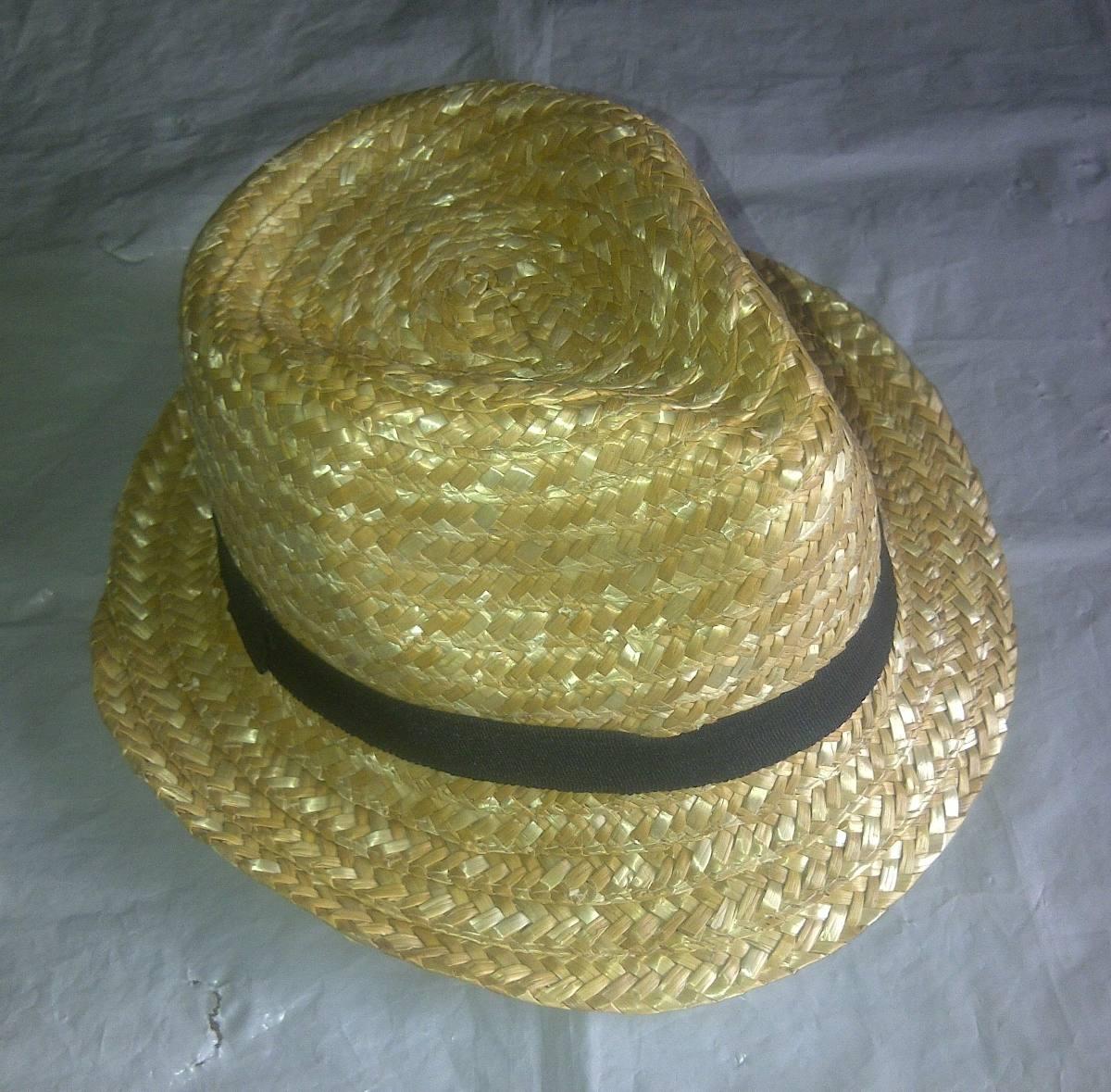 sombreros estilo borsalinos de paja unisex talla unica. Cargando zoom. 80b57f560a2