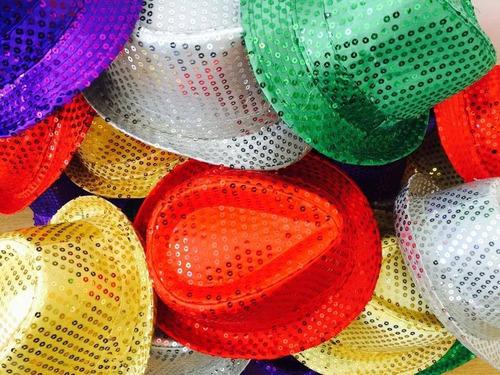 sombreros gorros cotillón luminoso
