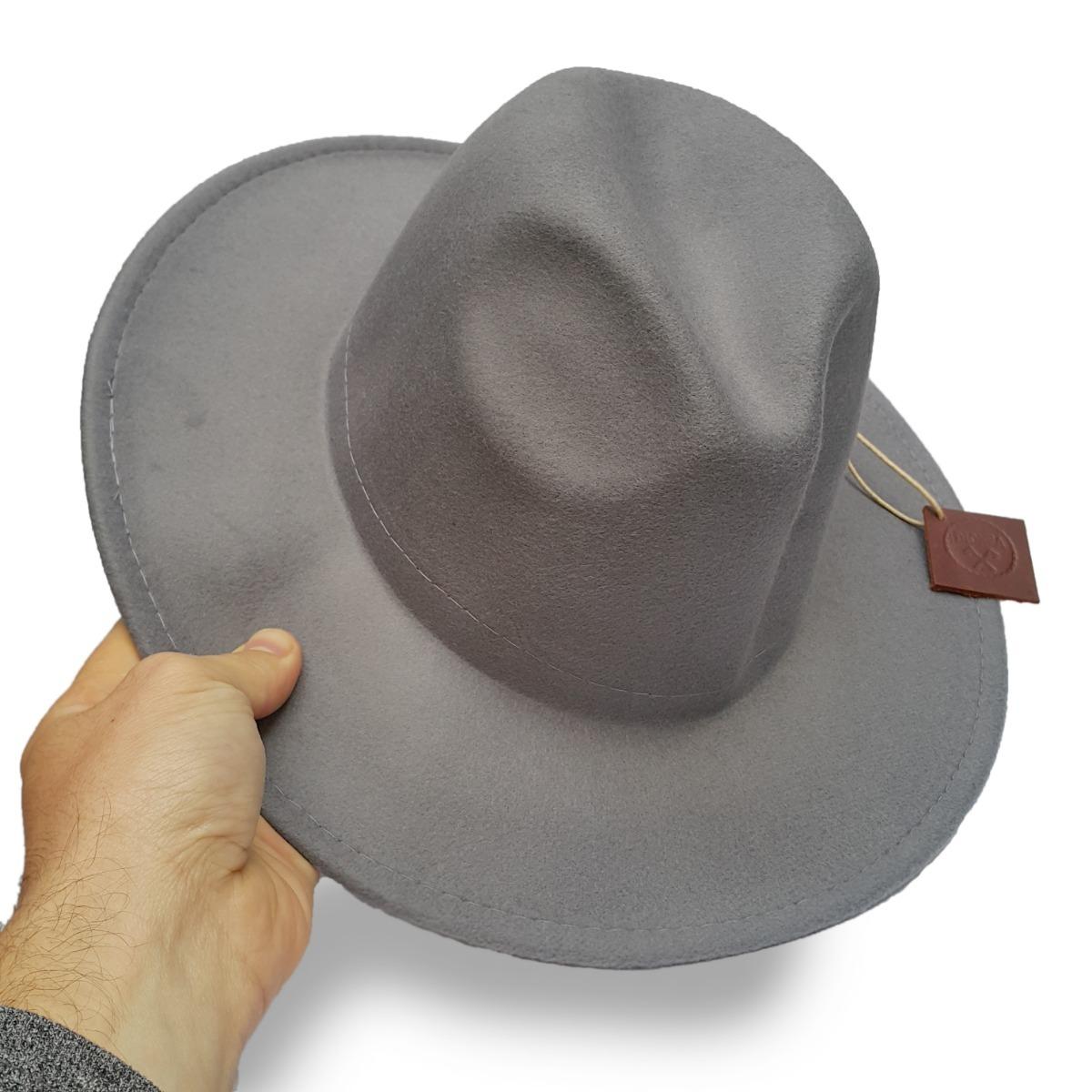 sombreros hombre gris plomo fieltro. Cargando zoom. dad2ee61166