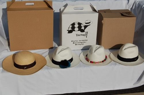 Sombreros Panama Hat O Paja Toquilla Tortugahat Blanco Mujer ... 550114b5cdb