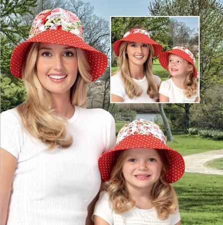 Sombreros Playeros Ideales Para Mamá E Hija Y En Combo - Bs. 800 ... b5d8462eed6