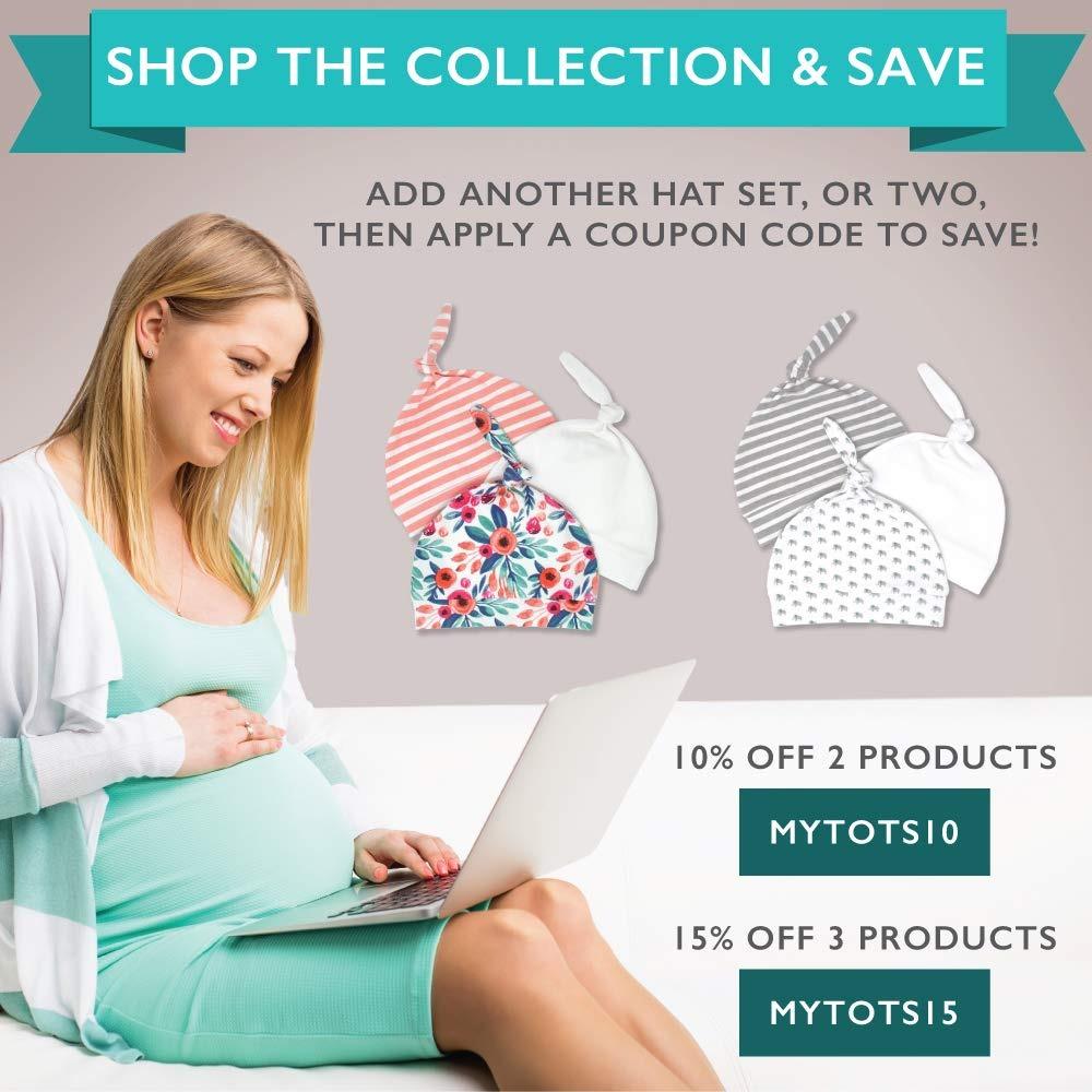 Sombreros Recién Nacidos Para Niños Niñas Suave 100 Algod ...