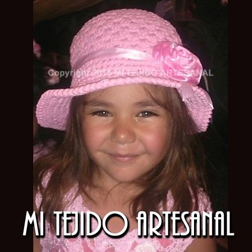da16eb80bec20 Sombreros Tejidos Al Crochet Para Niños Y Adolescentes -   260