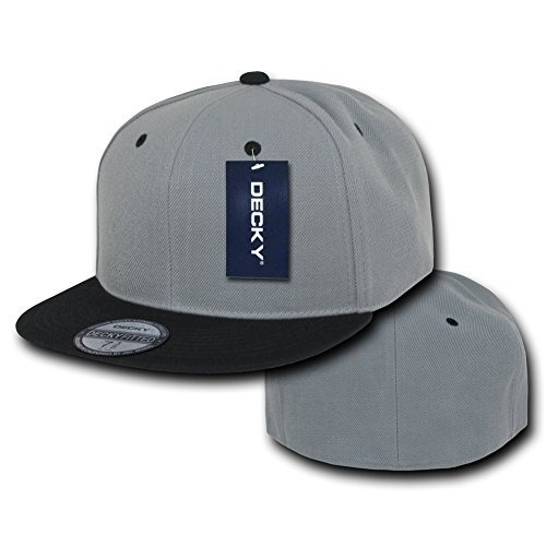 sombreros y gorras,gorra decky cap retro equipada gris n..