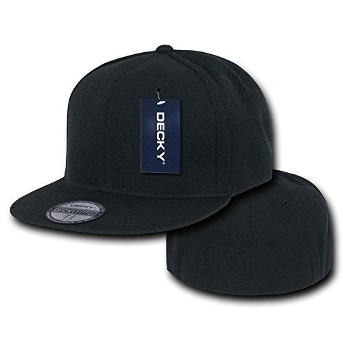 sombreros y gorrasgorra decky cap retro equipada negro 7 ..