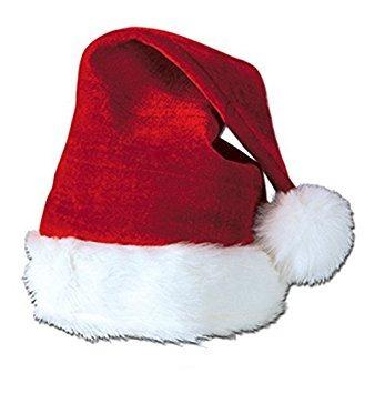 sombreros,decoración sombrero de santa con la felpa del ..