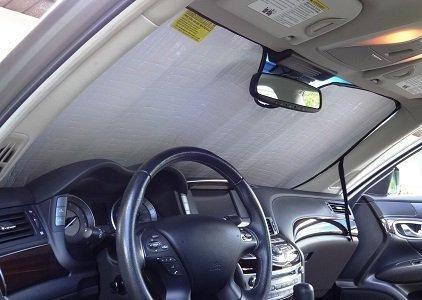 sombrilla autotech zone para ford fiesta sedan 2011-2018, so