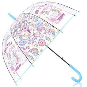 original mejor calificado amplia selección de colores mejor coleccion Sombrilla De Burbuja Transparente Unicornio Haooco