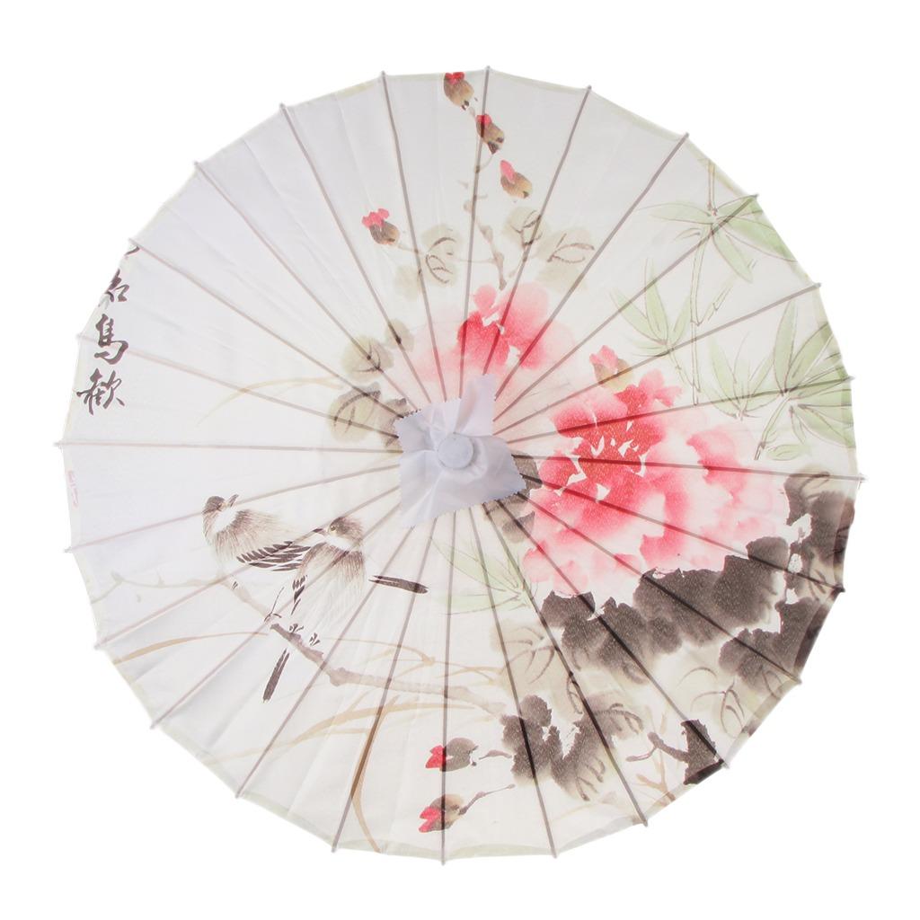 estilo novedoso Tienda mejor venta Sombrilla De Paraguas De Bambú Japonés Chino Patrón De