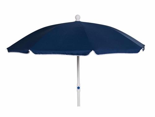 sombrilla de playa reforzada - protecc uva y ubv (50+)