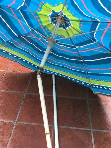 sombrilla de playa ,usada ( cod 22) 160 ancho