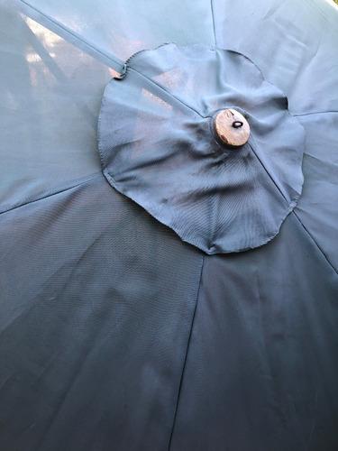 sombrilla de playa ,usada  grande , 280 ancho