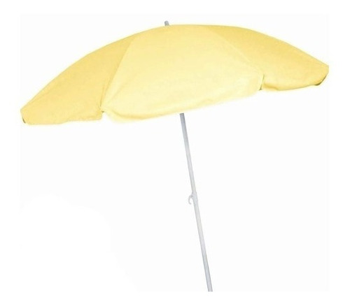 sombrilla para playa 150cm amarillo hessen g p