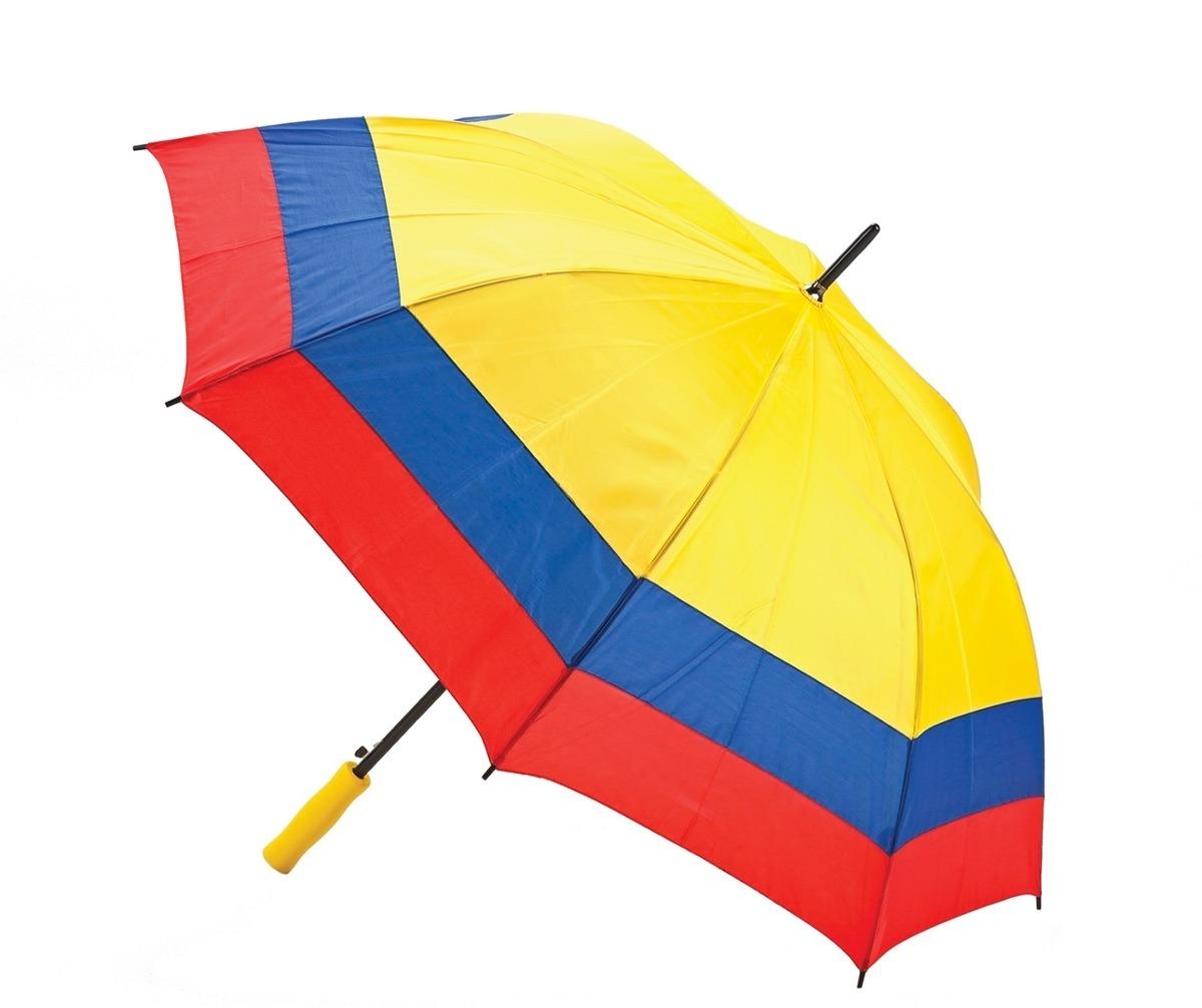 Sombrilla paraguas colombia tricolor 27 pulgadas tricolor for Precio de sombrillas