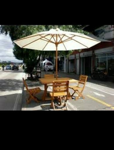 sombrilla paraguas, toldo para jardín porche piscina 2 metro