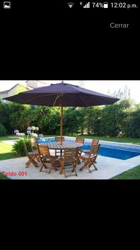 sombrilla paraguas, toldo para jardín porche piscina