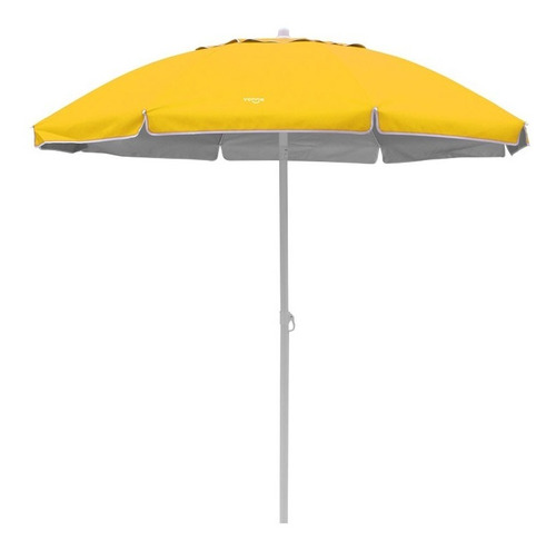 sombrilla playera reclinable 2 m amarilla vonne zona norte