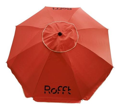sombrilla reforzada acero inclinable 2 mts premium°